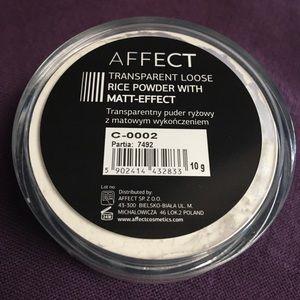 Affect Makeup - Transparent Loose Rice Powder